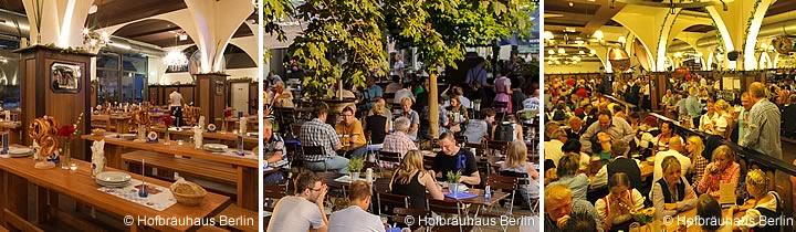 Restaurants in Berlin Hofbräuhaus Berlin